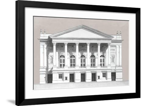 Vintage Formation III-Andras Kaldor-Framed Art Print