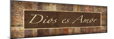 Dios es Amor-Maria Mendez-Mounted Giclee Print