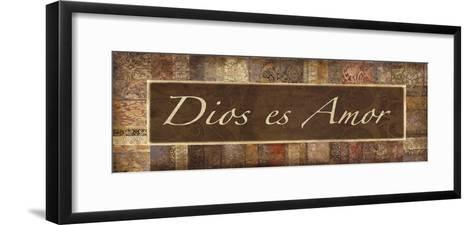 Dios es Amor-Maria Mendez-Framed Art Print