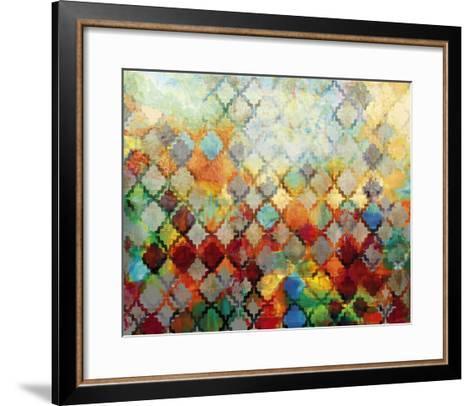 Moroccan Abstract-Tania Bello-Framed Art Print