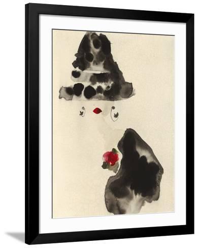 A Glamourous Hat-Bridget Davies-Framed Art Print