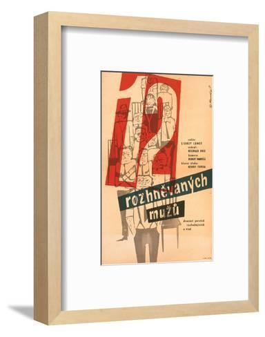 12 Angry Men-Rozhnevanych--Framed Art Print