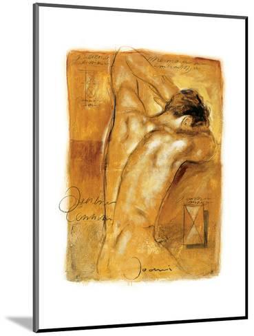 A Man's Desire-Joani-Mounted Art Print