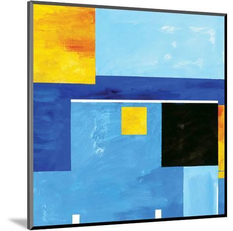 Bauhaus Plan V1-Carmine Thorner-Mounted Art Print
