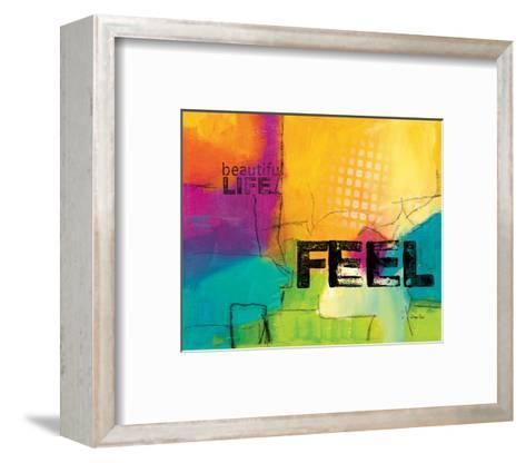 Beautiful Life-Lucy Cloud-Framed Art Print