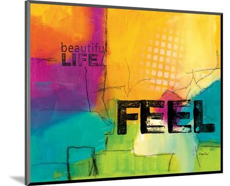 Beautiful Life-Lucy Cloud-Mounted Art Print