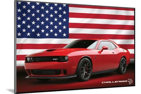 Chrysler - Challenger Hellcat--Mounted Art Print