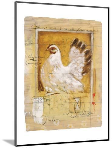Chicken-Joadoor-Mounted Art Print