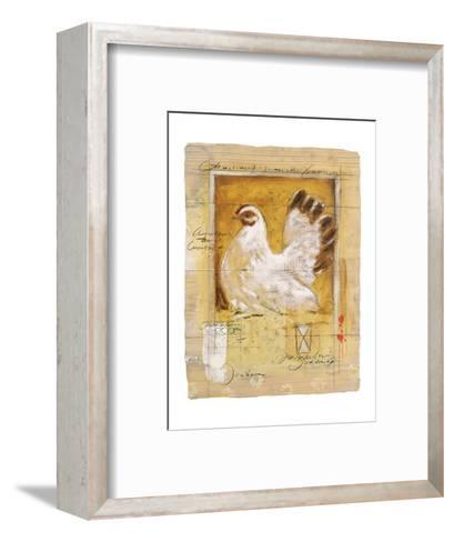 Chicken-Joadoor-Framed Art Print