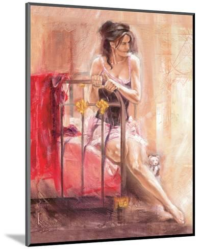 Dainty Moments-Talantbek Chekirov-Mounted Art Print