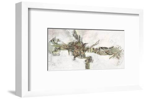 Crocodile-Renate Holzner-Framed Art Print