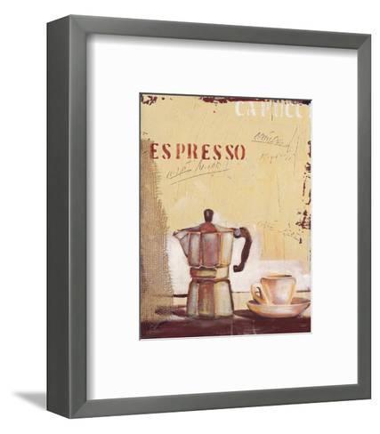Espresso-Anna Flores-Framed Art Print