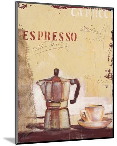 Espresso-Anna Flores-Mounted Premium Giclee Print