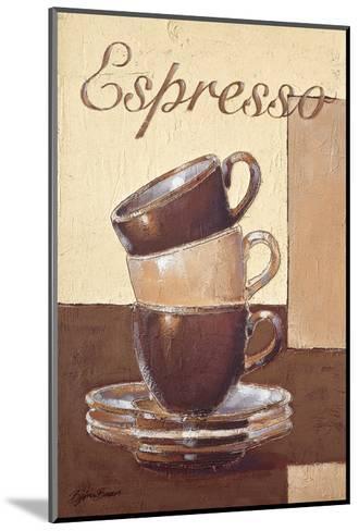 Espresso-Bjoern Baar-Mounted Premium Giclee Print