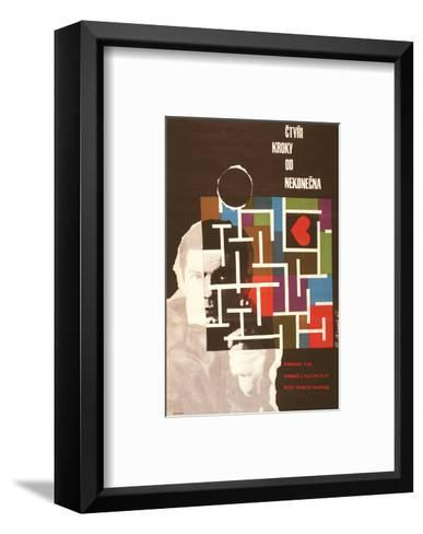 Four Steps From Infinity-Ctyri--Framed Art Print