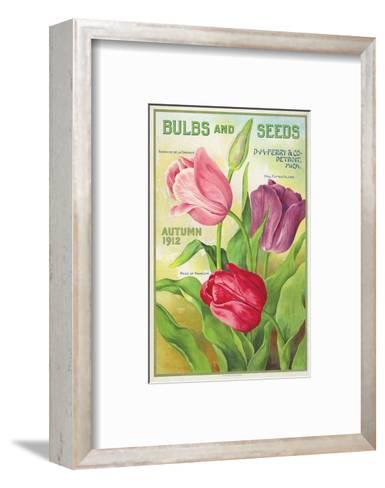 Ferry Bulbs and Seeds Detroit--Framed Art Print
