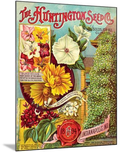 Huntington Seed Indianapolis--Mounted Premium Giclee Print