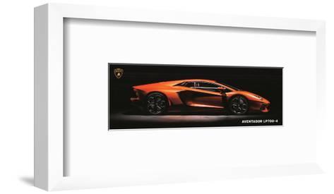 Lamborghini Aventador Lp700-4--Framed Art Print