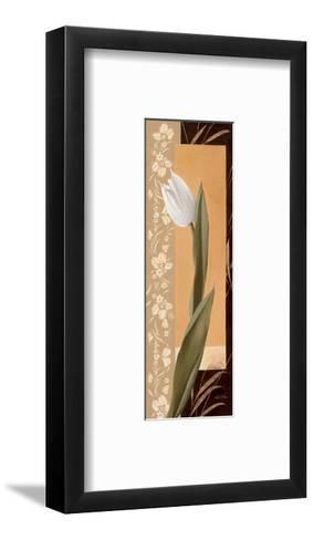 Kissing Tulips I-Gerard Beauvoir-Framed Art Print