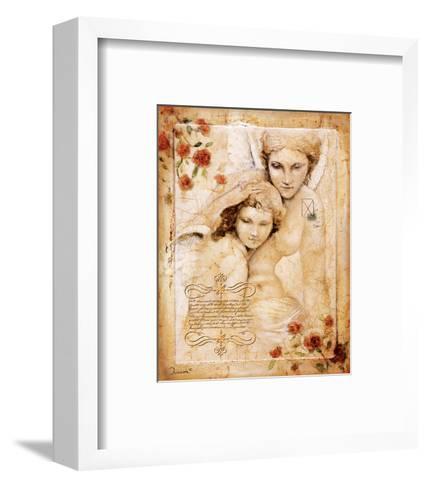 Les Anges-L'Ange Gardien-Joadoor-Framed Art Print