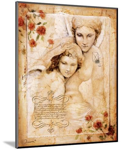 Les Anges-L'Ange Gardien-Joadoor-Mounted Art Print