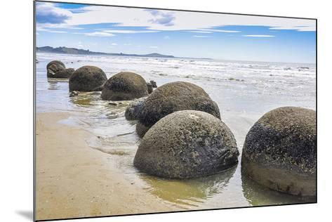 Moeraki Boulders New Zealand--Mounted Premium Giclee Print