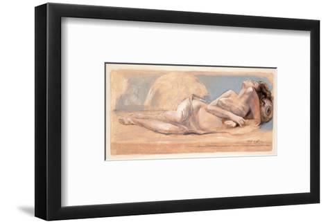 On the Swing-Talantbek Chekirov-Framed Art Print