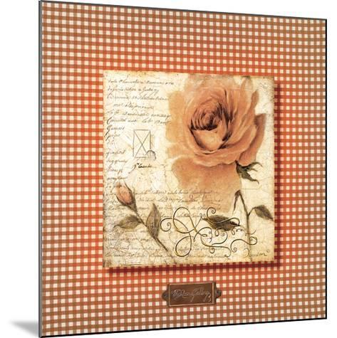 Orange Rose-Joadoor-Mounted Premium Giclee Print