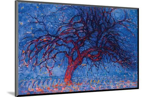 Piet Mondrian Red Tree 1908--Mounted Premium Giclee Print