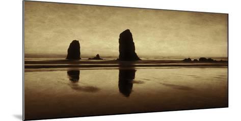 Pastel Evening on the Coast-Don Schwartz-Mounted Premium Giclee Print