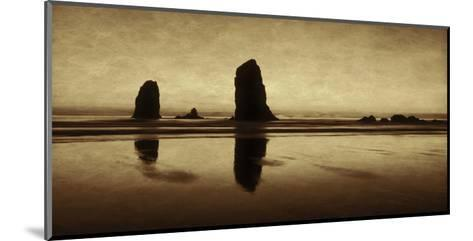 Pastel Evening on the Coast-Don Schwartz-Mounted Art Print