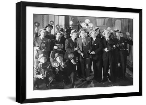 Paparazzi 50Ies Style--Framed Art Print