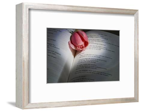 Schwartz - Blue Love Poem-Don Schwartz-Framed Art Print