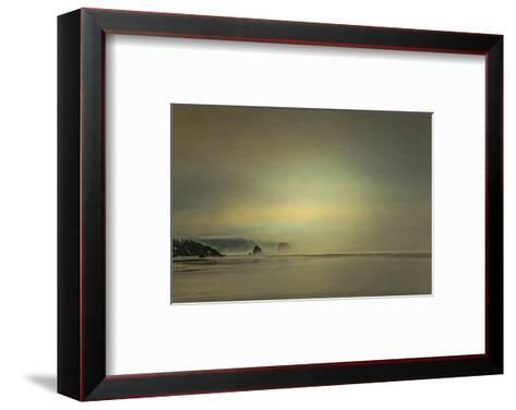 Schwartz - Gentle Coastal Sunrise-Don Schwartz-Framed Art Print