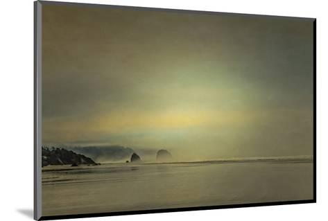 Schwartz - Gentle Coastal Sunrise-Don Schwartz-Mounted Premium Giclee Print