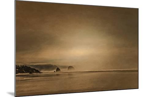 Schwartz - Gentle Coastal Sunrise-Don Schwartz-Mounted Premium Giclee Print