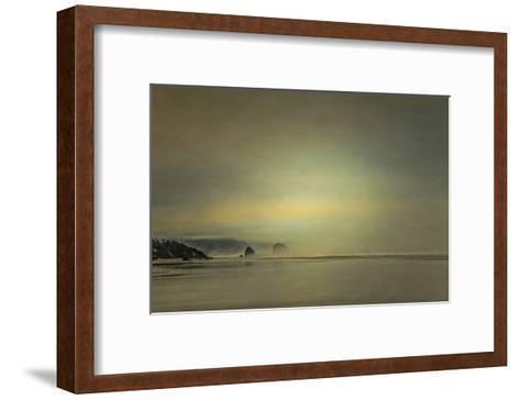 Schwartz - Gentle Coastal Sunrise-Don Schwartz-Framed Art Print