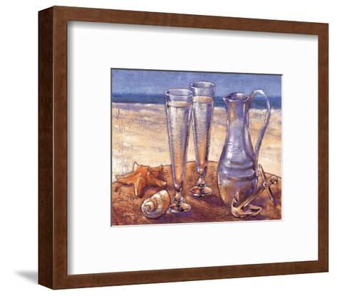 Sand Sun Sea-Bjoern Baar-Framed Art Print