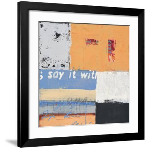 Say it with Flowers-Anna Flores-Framed Art Print