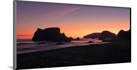 Schwartz - Oregon Coast Silhouette-Don Schwartz-Mounted Art Print