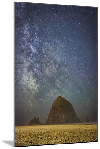 Sparkling Skies Over HaystacK-Don Schwartz-Mounted Premium Giclee Print