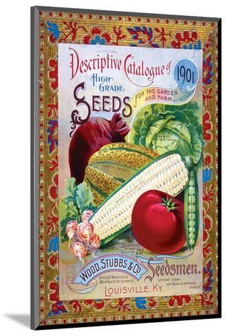 Stubbs Seeds Louisville--Mounted Art Print