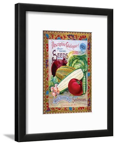 Stubbs Seeds Louisville--Framed Art Print