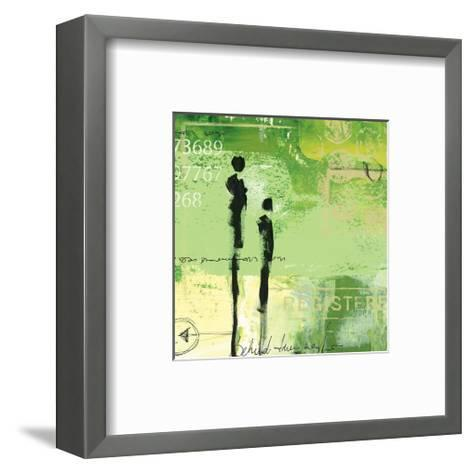 Steps into the Green III-Lucy Cloud-Framed Art Print