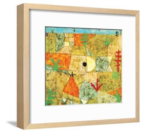 Southern Gardens-Paul Klee-Framed Art Print