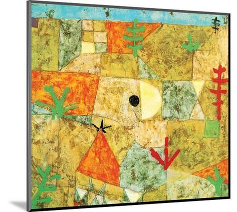 Southern Gardens-Paul Klee-Mounted Art Print
