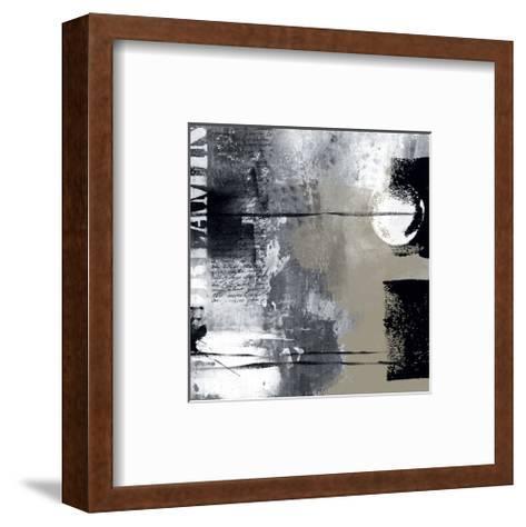 Silver Stream I-Lucy Cloud-Framed Art Print