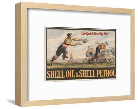 Shell Oil & Shell Petrol--Framed Art Print