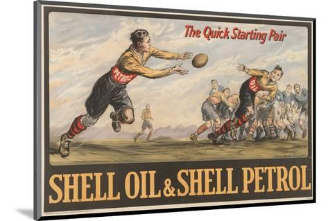 Shell Oil & Shell Petrol--Mounted Art Print