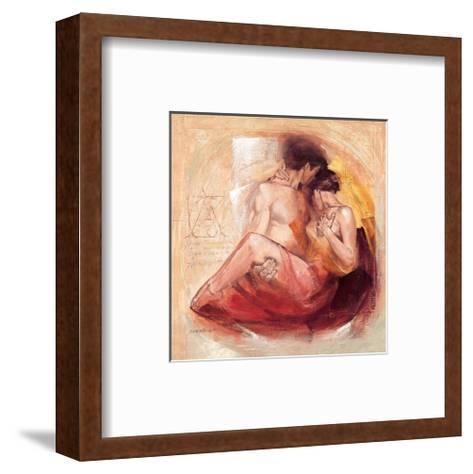 Tender Passion-Talantbek Chekirov-Framed Art Print